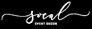SoCal Event Decor